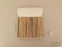 PE06-04-白羊毛竹柄排刷/排筆(毛寬約11.5cm)1