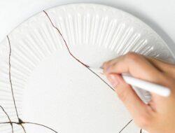 陶瓷金繼修復材料
