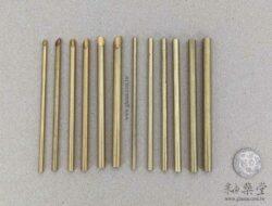 HP17-打洞銅管組-平口與斜口各6支(共12支1套)